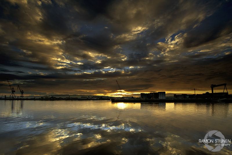 Photograph Belfast Harbour by Ramon Stijnen on 500px
