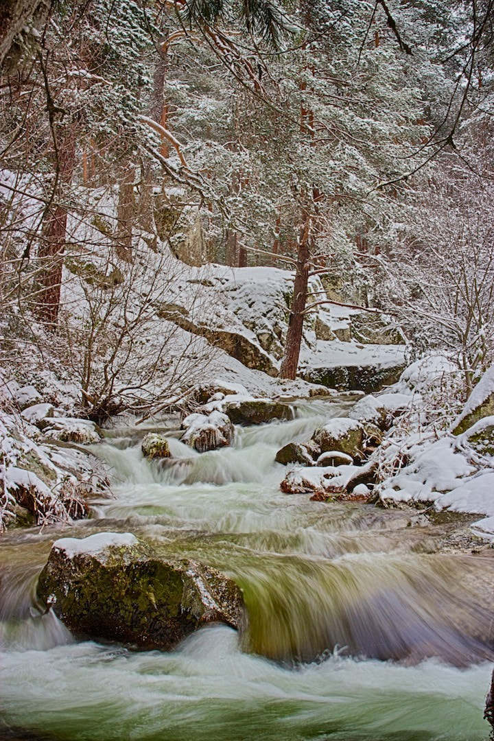 Photograph Mountain Stream by Pete Robinson on 500px