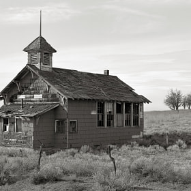 Abandoned Schoolhouse, Goodnoe Hills, Washington by Austin Granger (AustinGranger)) on 500px.com