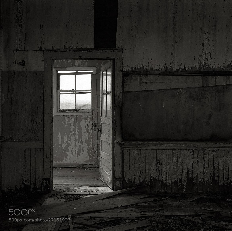 Photograph Inside an Abandoned Schoolhouse, Goodnoe Hills, Washington by Austin Granger on 500px