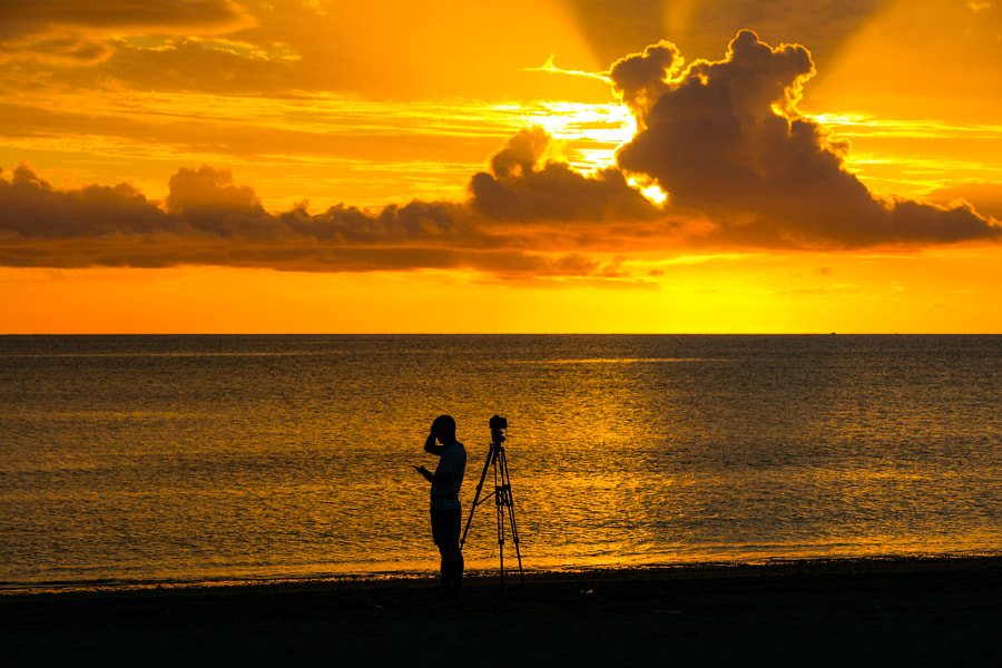 Twilight and photographers, автор — lume  на 500px.com