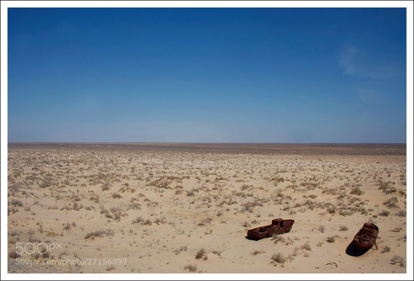 Photograph The Aral Sea by Anne Harestad on 500px