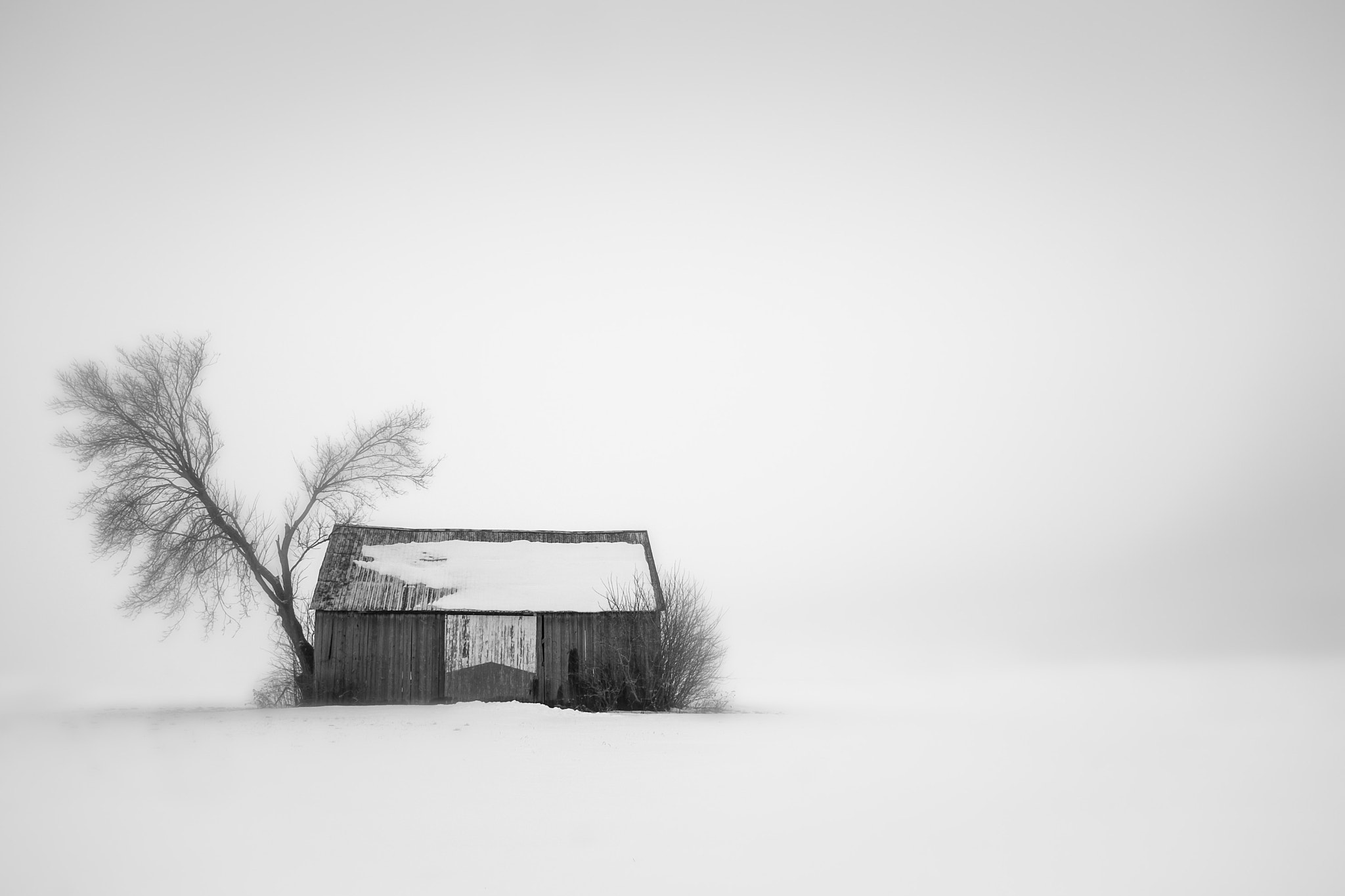 Photograph Barn by Sébastien Trudeau-Dion on 500px