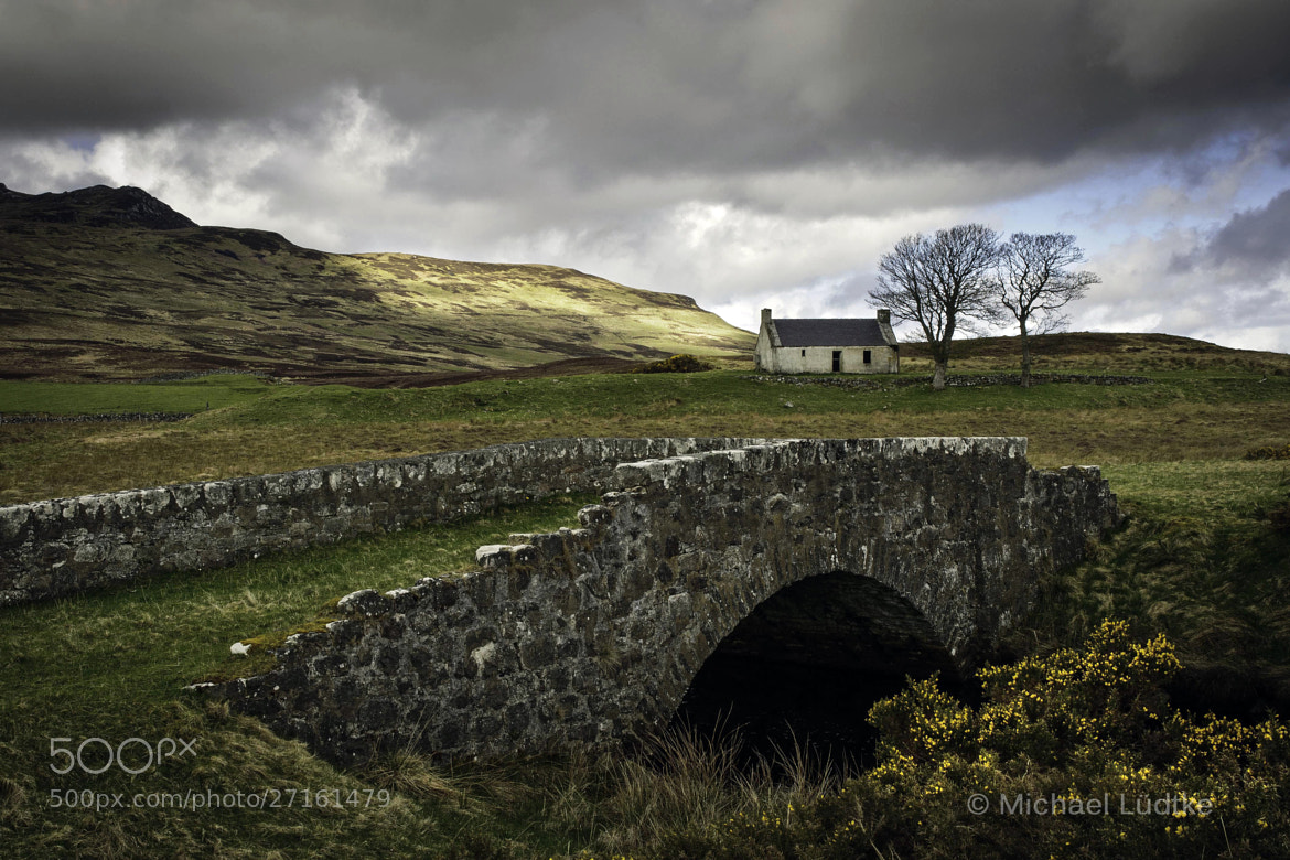 Photograph Scotland, House in the Highlands by Michael Lüdtke on 500px