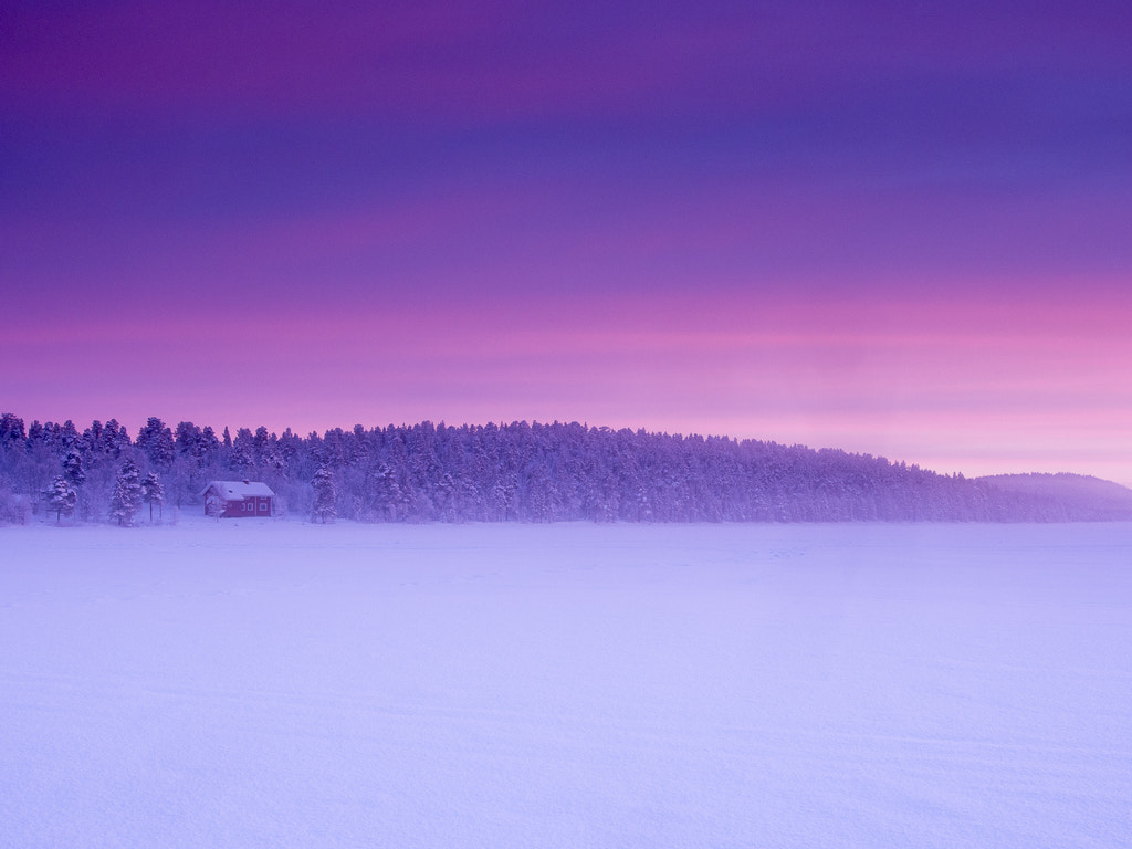 Photograph Menesjarvi Sunset by Keith Muir on 500px