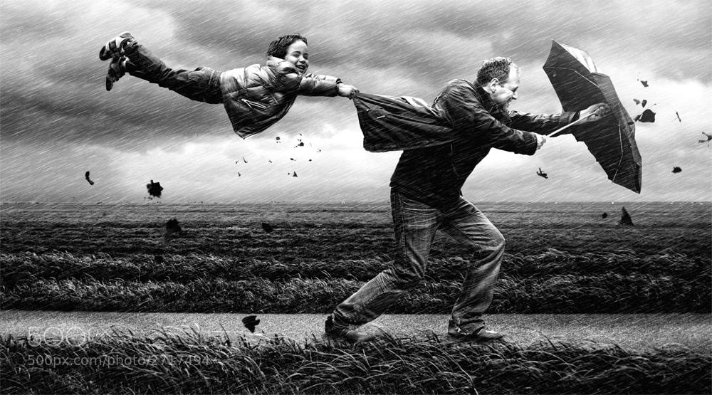 Photograph wind by Adrian Sommeling on 500px