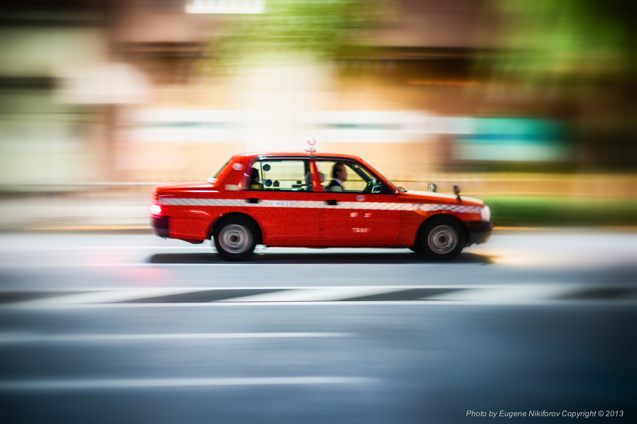 Photograph Tokyo Taxi by Eugene Nikiforov on 500px