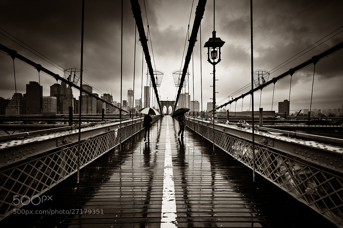 Photograph Two umbrellas, new York by Guillaume Gaudet on 500px