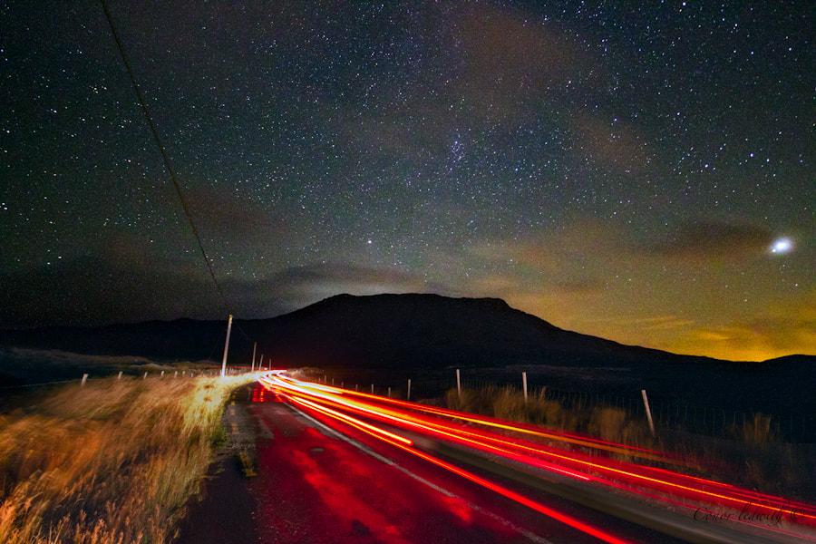 Photograph The Red Light District Of Connemara by conor ledwith on 500px