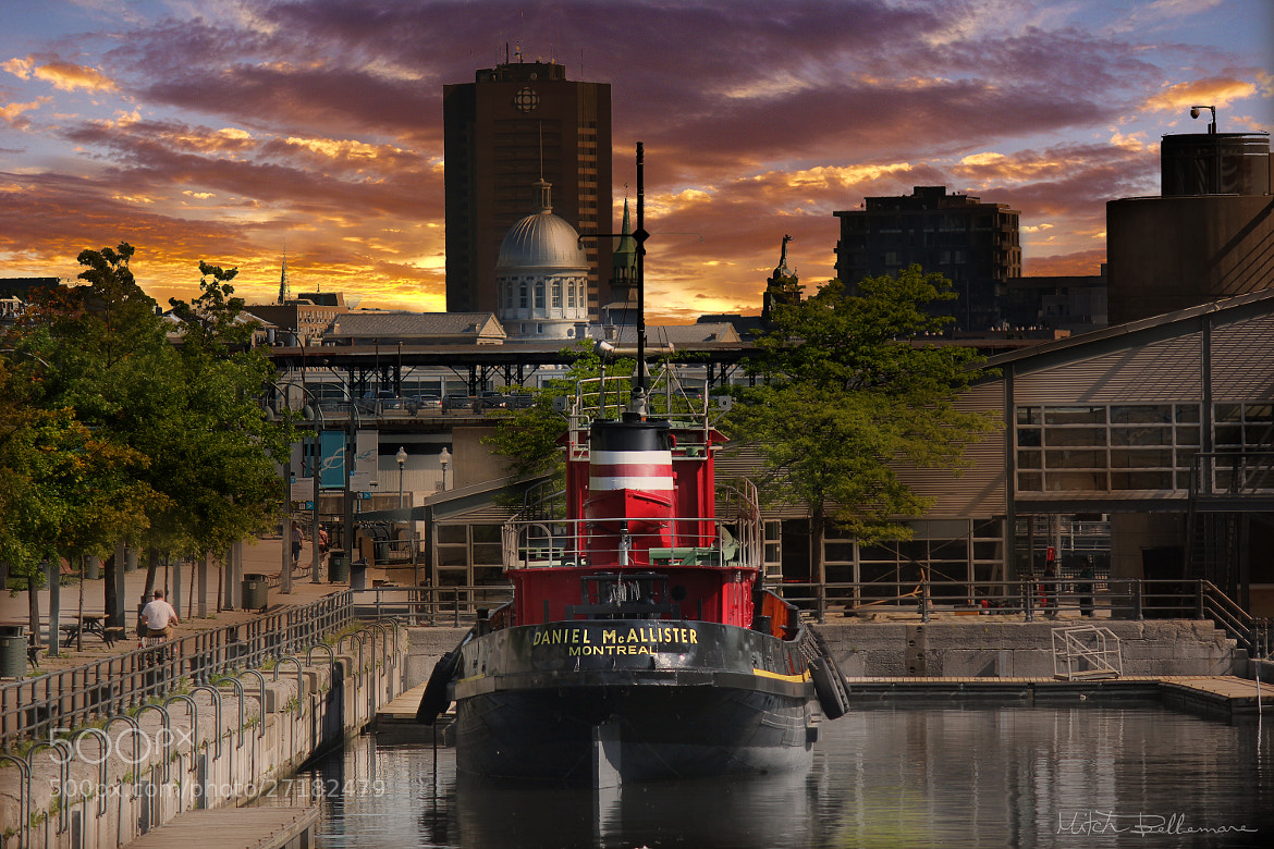 Photograph Old tugboat of Montreal by Michel Bellemare on 500px