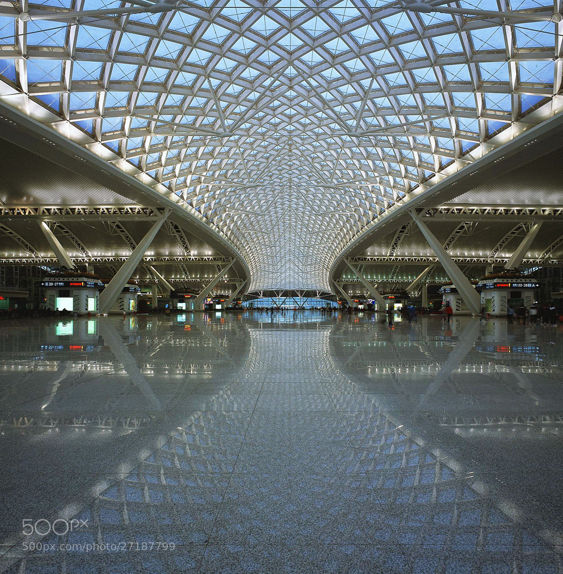 Photograph GZ South Railway Station, China by Herman Cheng on 500px