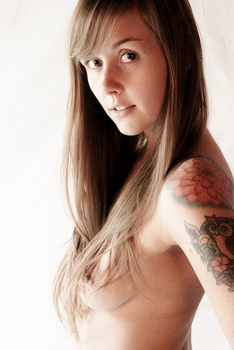 Photograph Inked Nude by Gaelen  on 500px