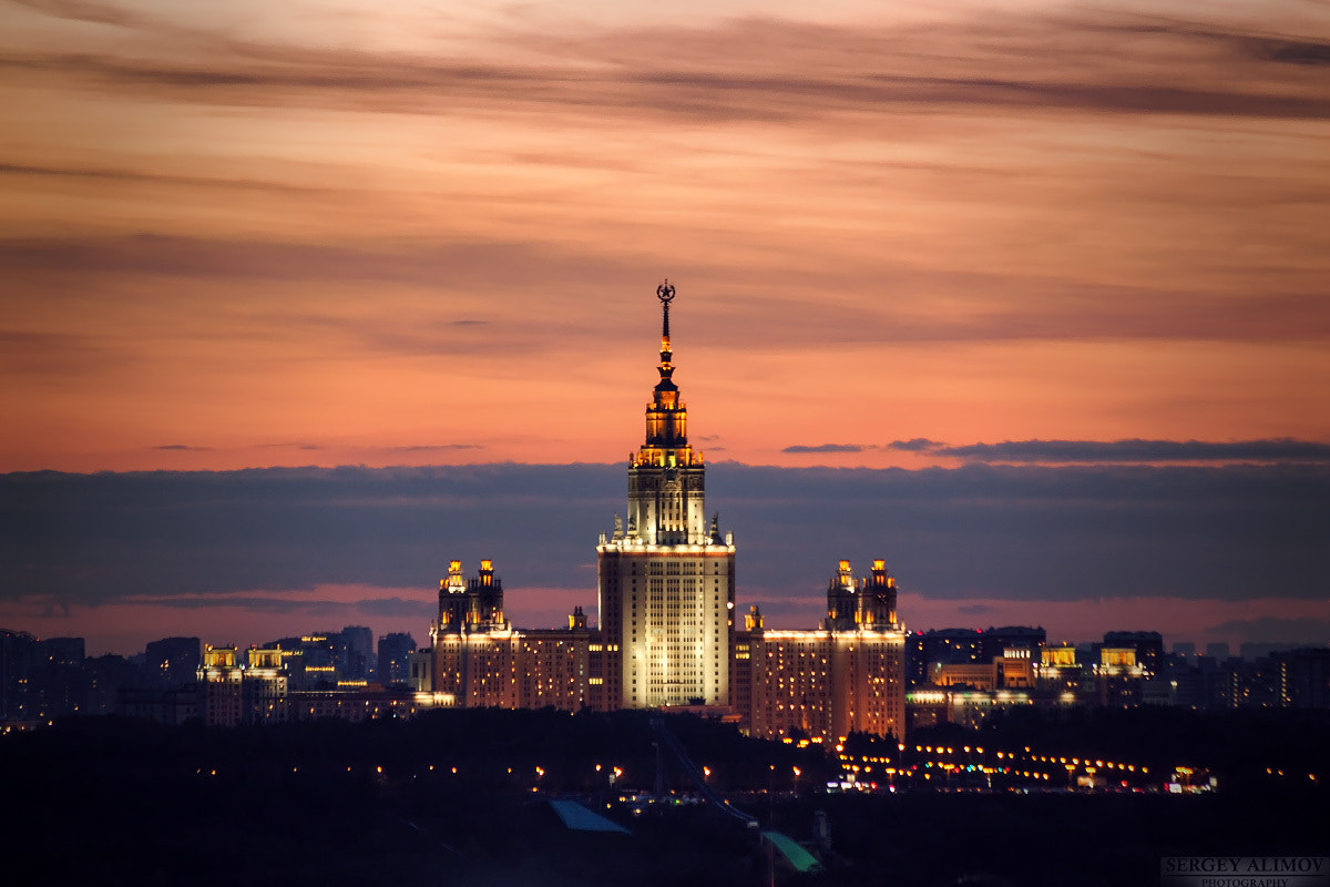 Photograph Moscow State University by Sergey Alimov on 500px