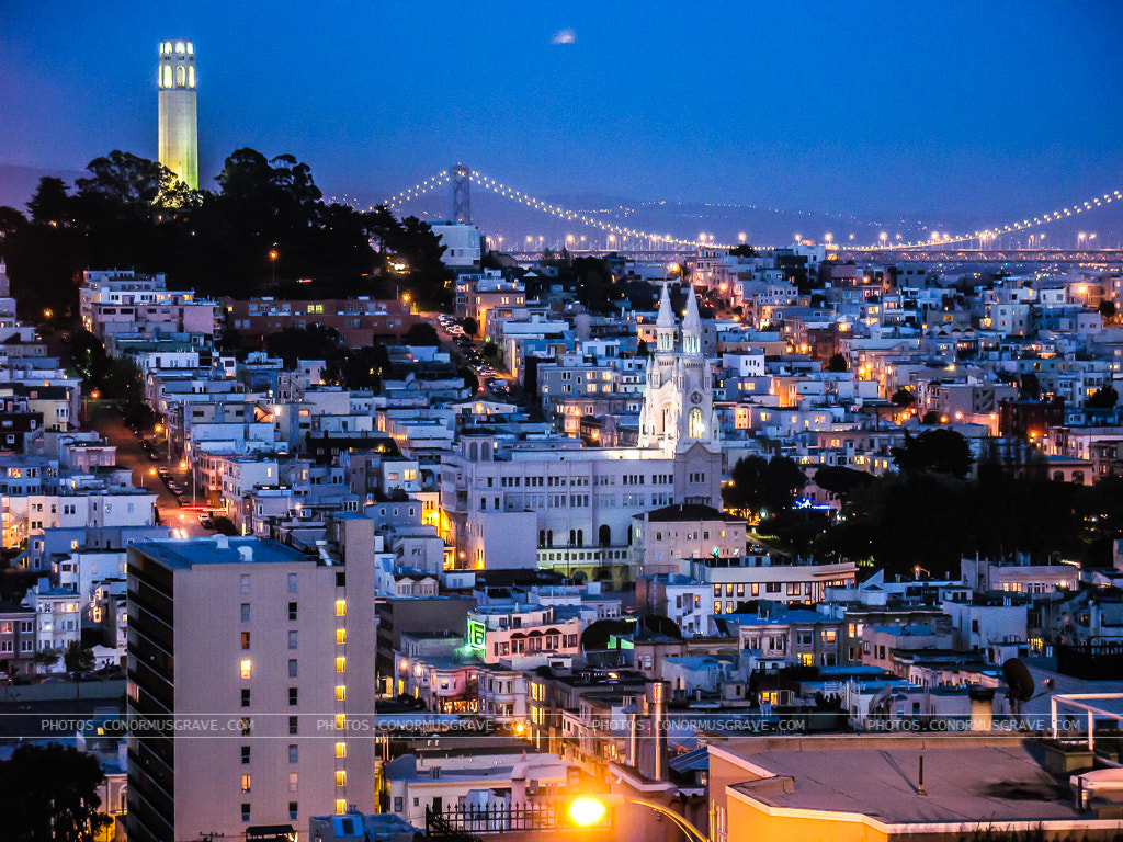 Photograph Coit Tower San Francisco by Conor Musgrave on 500px