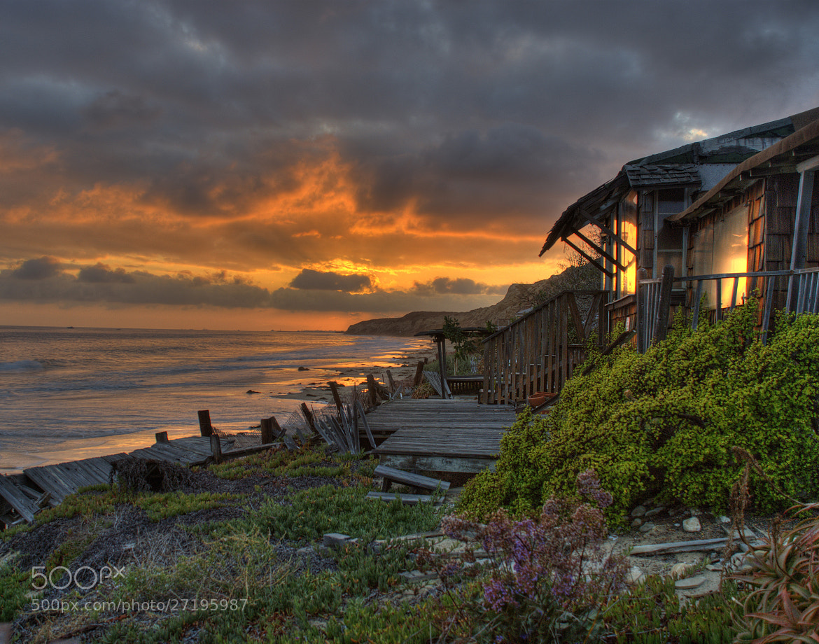 Photograph Crystal Cove Cottage Sunset by Pat Dwyer on 500px