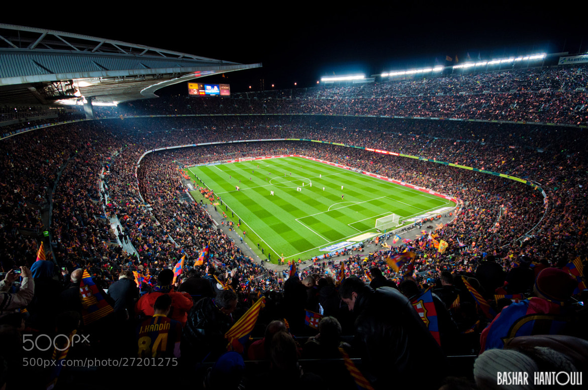 Photograph Camp Nou Stadium - Barcelona by Bashar H on 500px