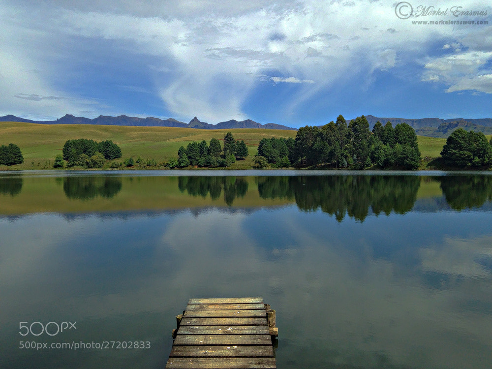 Photograph iPhone Lake Scene by Morkel Erasmus on 500px
