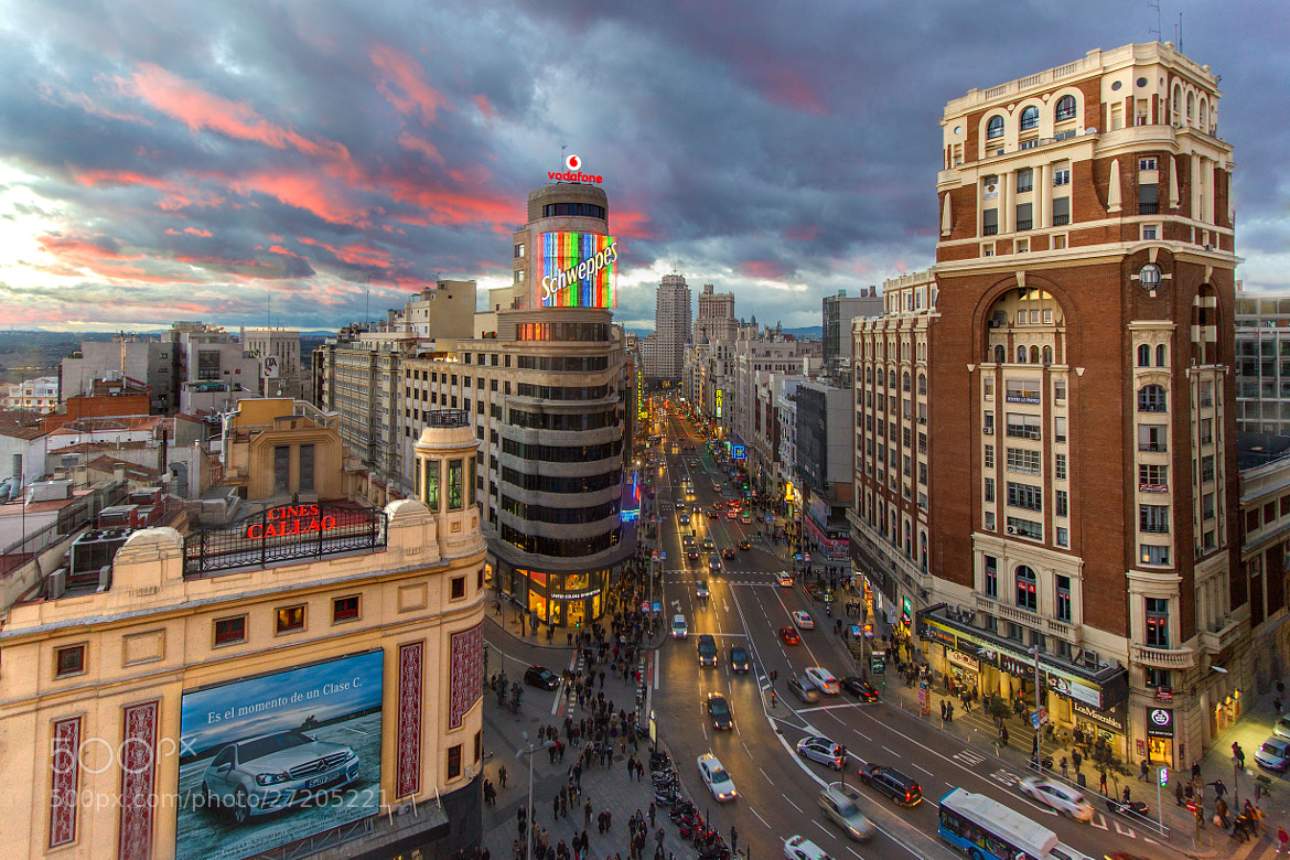 Photograph Madrid at sunset by Carlos Luque on 500px