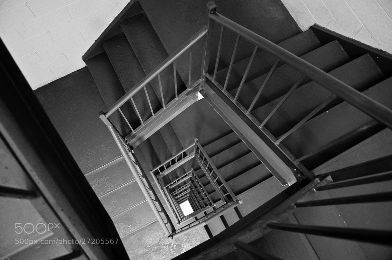 Photograph A staircase by Nabil BACHIR-CHERIF on 500px