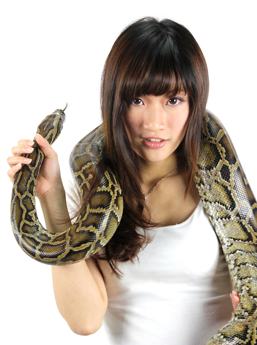 Photograph Hana With Python by Herman Cheng on 500px