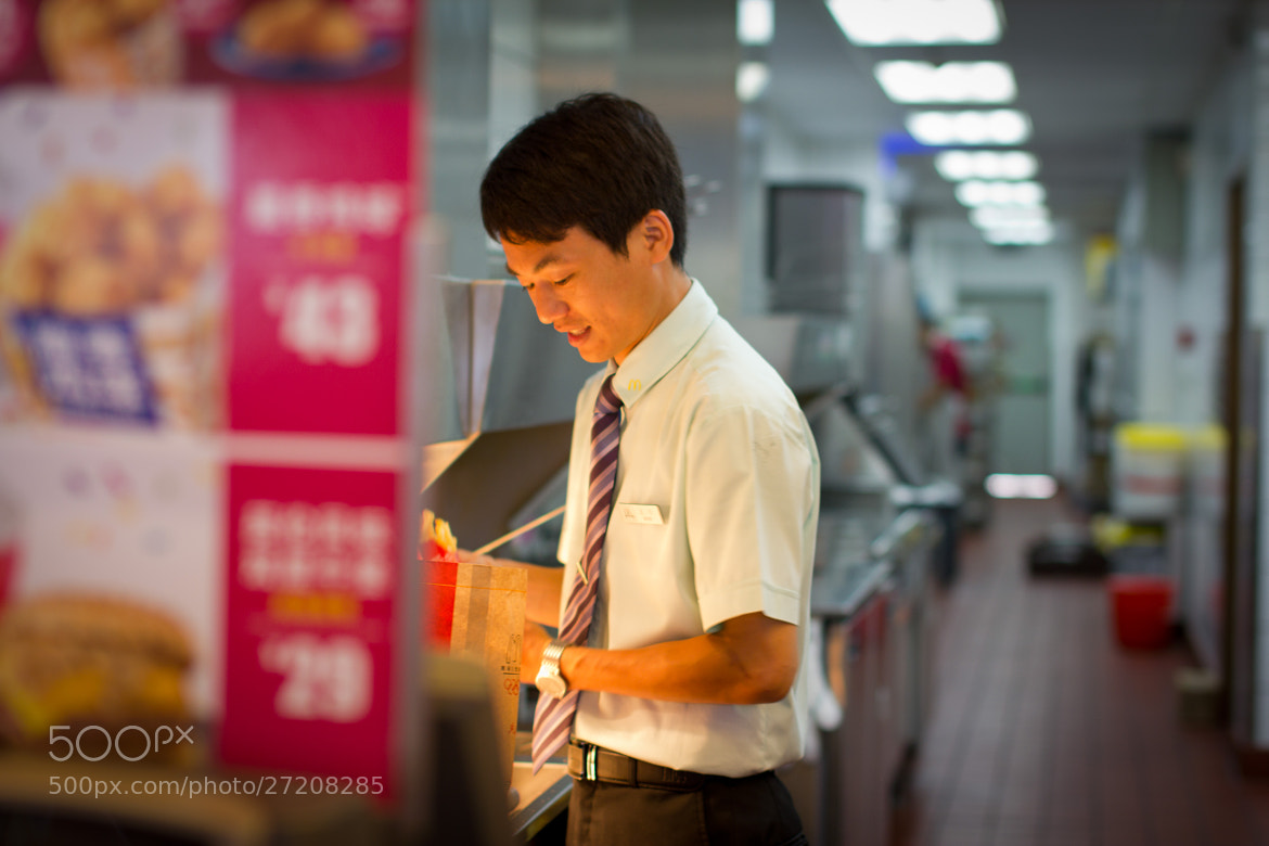 Photograph McDonald's uncle by Henry Poon on 500px