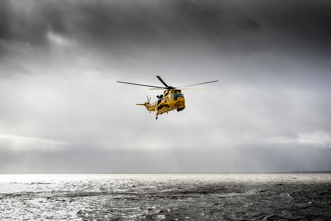 Photograph RAF Sea King by Neil Holmes on 500px