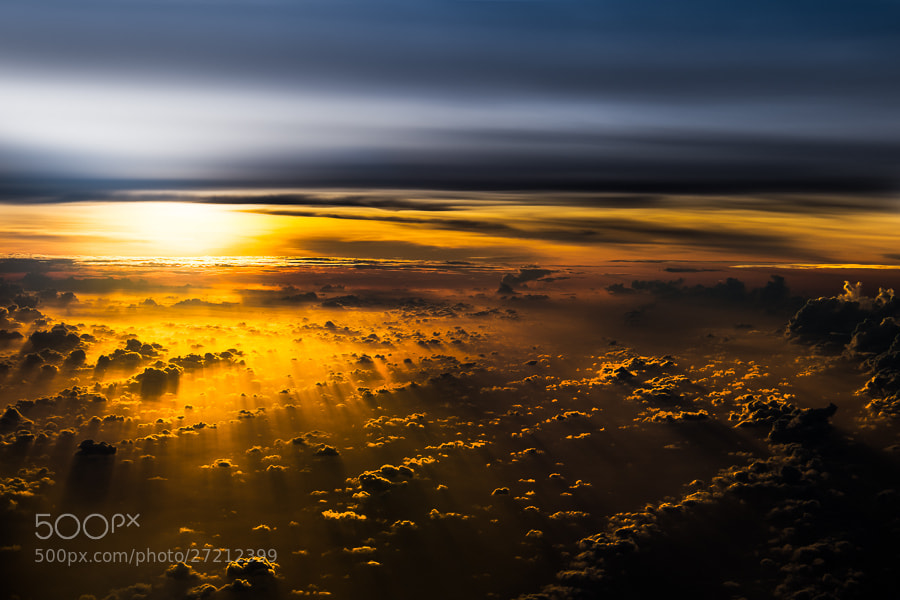 Photograph Above the Clouds.... by Jared Lim on 500px