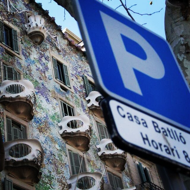 Photograph Parking @ Casa Batlló by JON URRA on 500px