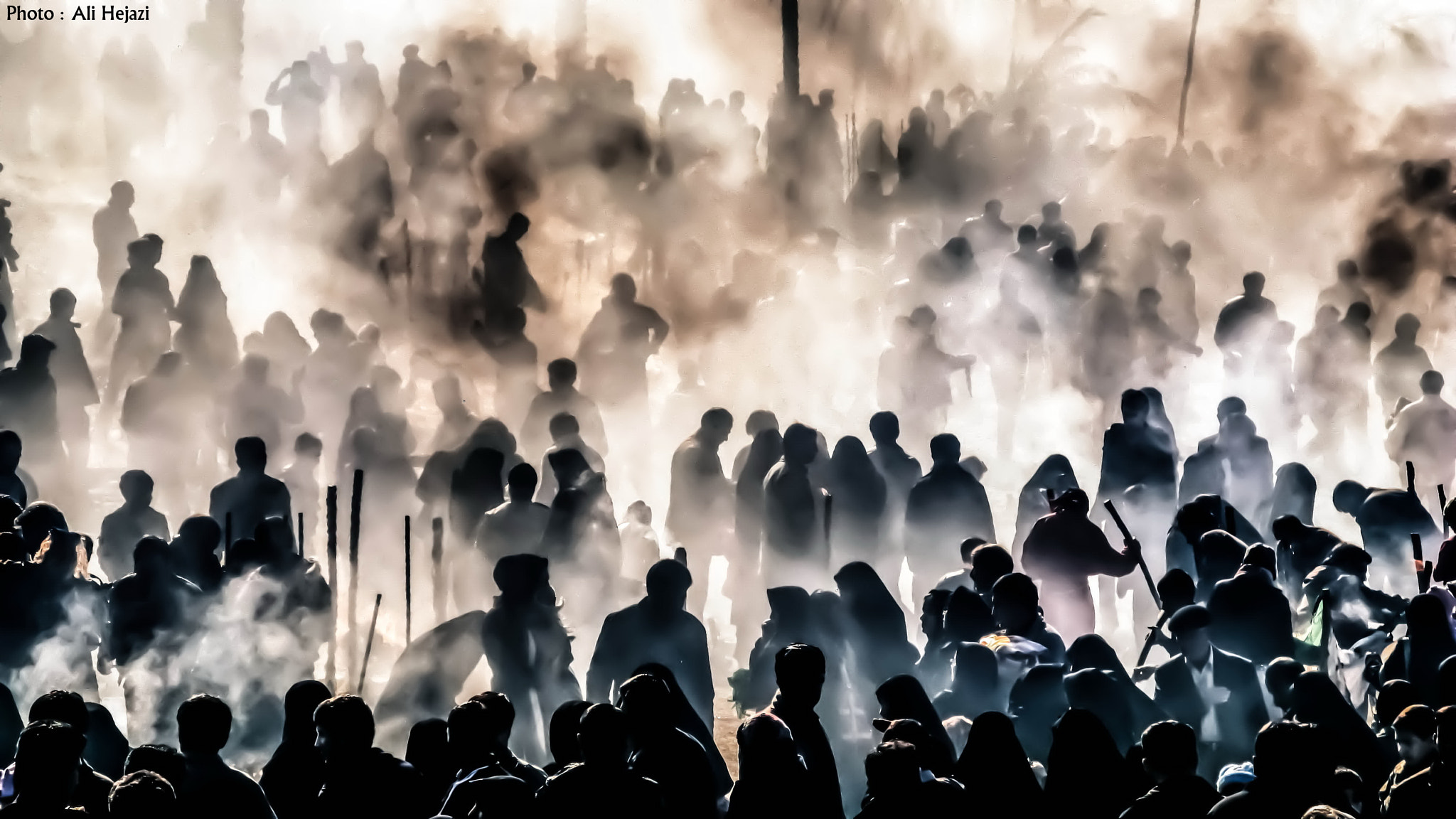 Photograph After the tent burning (Religious Ceremony)2 by Ali Hejazi on 500px