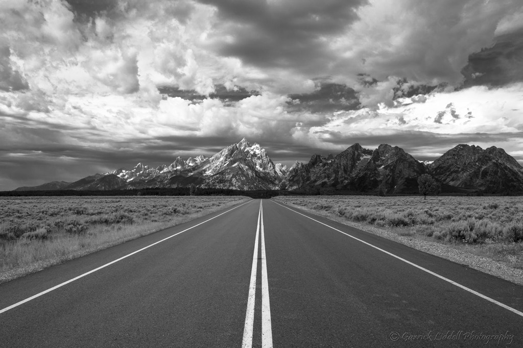 Photograph Road to the Grand Ones! by Garrick Liddell on 500px