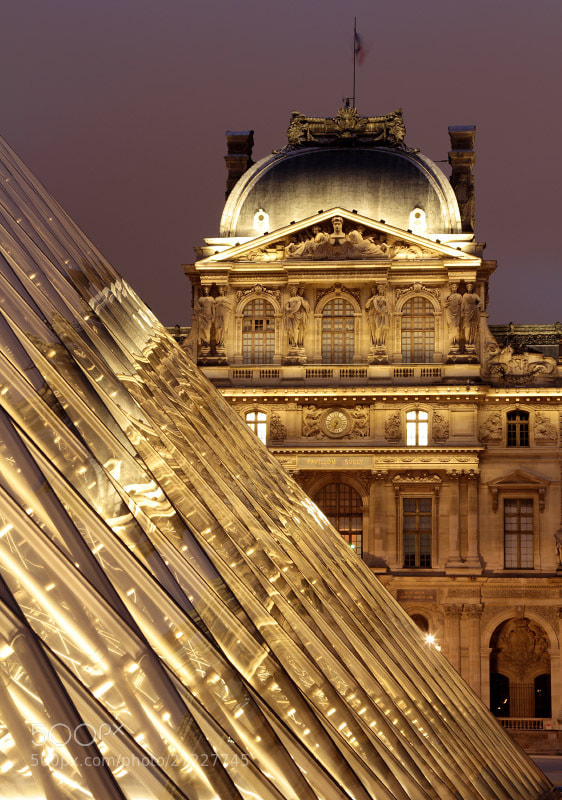 Photograph Reflections Of Louvre by Burak Arik on 500px