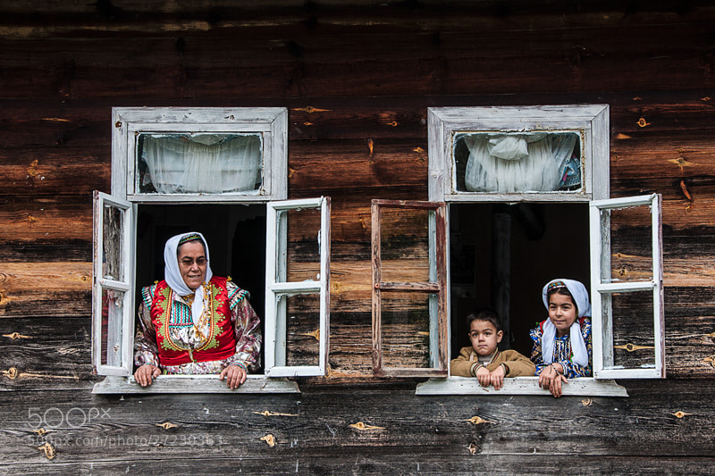 Photograph Grandmother and the kids by Okan YILMAZ on 500px