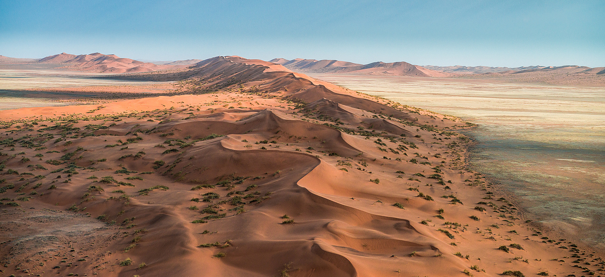 Photograph Namib Desert from the sky by Nick Legrand on 500px