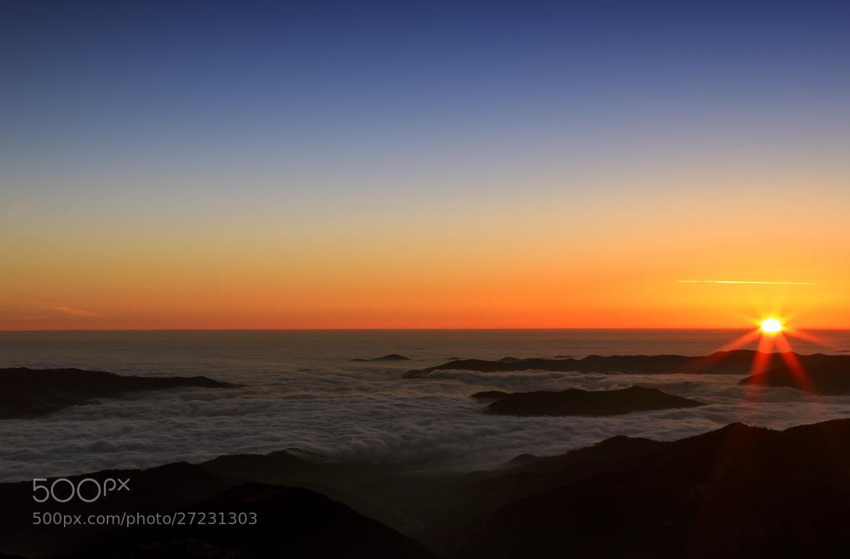 Photograph Amazing sunrise by Janos Gaspar on 500px