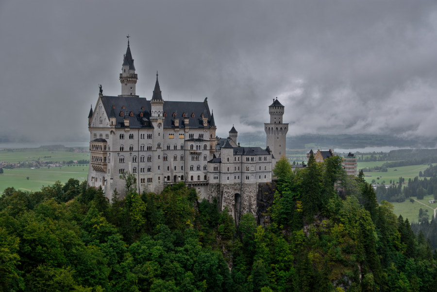 Neuschwanstein Castle by Joseph Fox on 500px.com