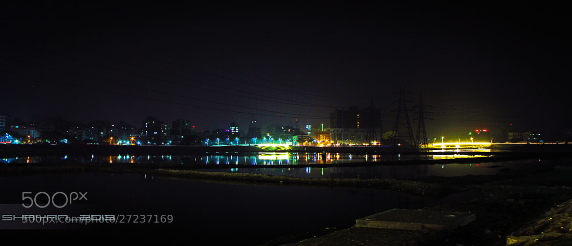 Photograph Hatirjheel Wide by Shayan Ahmed on 500px