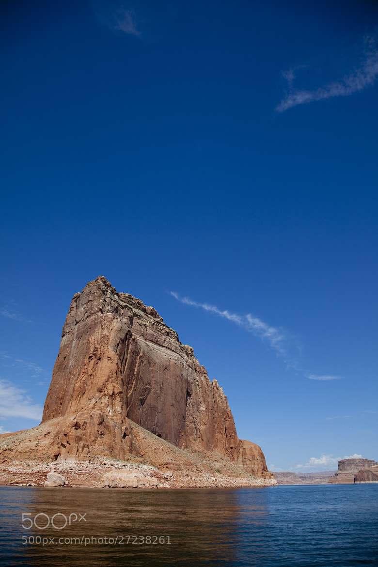 Photograph Blue Sky Over Red Rocks Of Lake Powell Utah by Greg Sargent on 500px