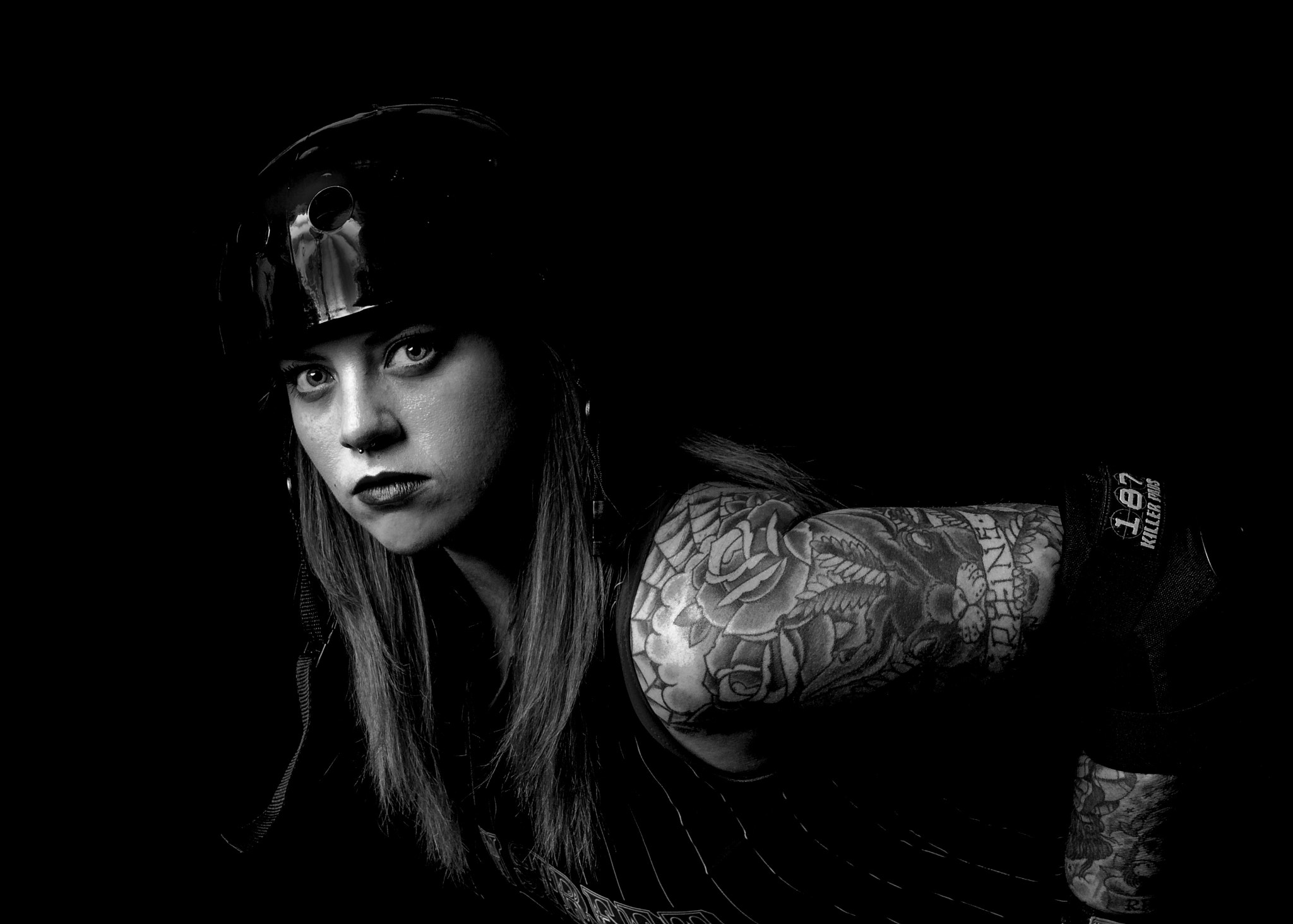 Photograph Rose, Queen of the Roller Derby by Kent Harmon on 500px