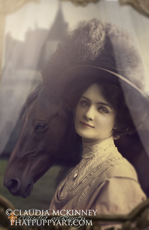 Photograph Lady Mary by Phatpuppy Art on 500px