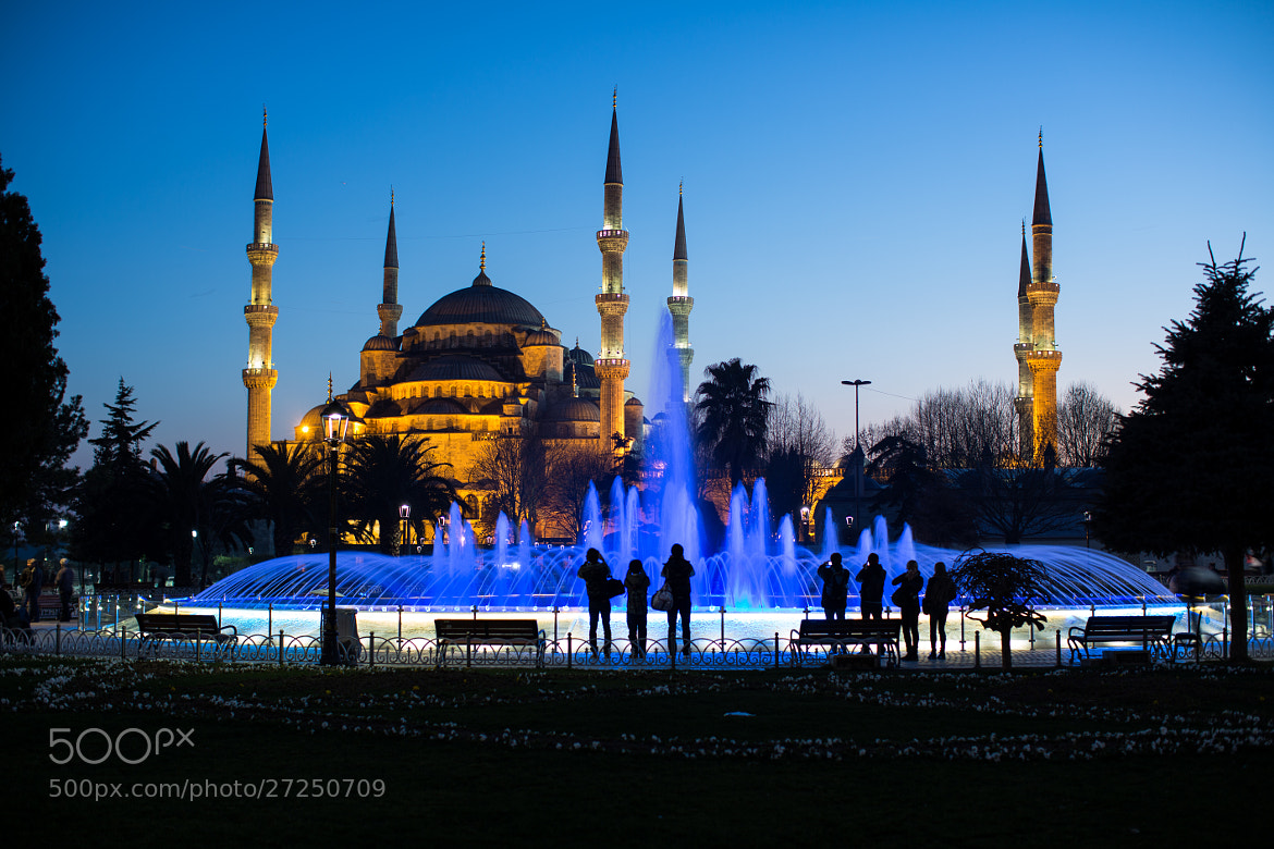 Photograph Blue Mosque by Cüneyd Demirci on 500px
