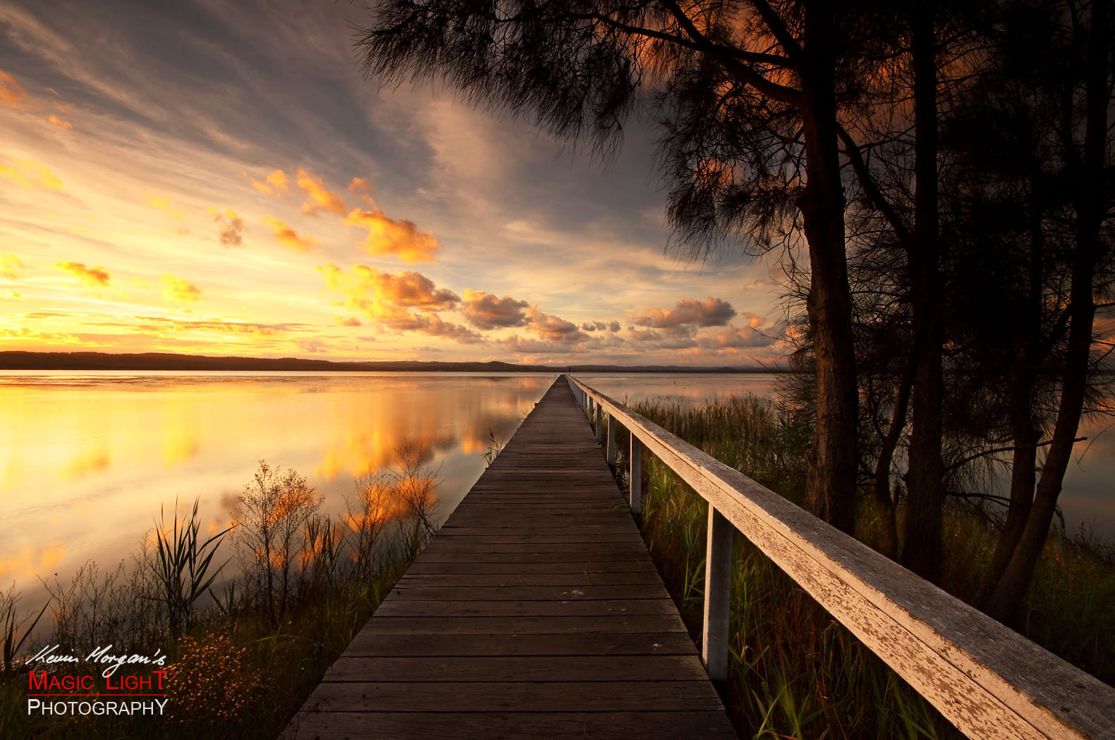 Photograph Long Jetty Sunset by Kevin Morgan on 500px