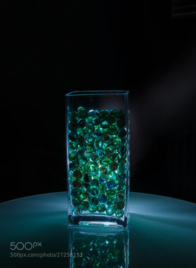 Photograph jar of marbles by Susanne Bund on 500px
