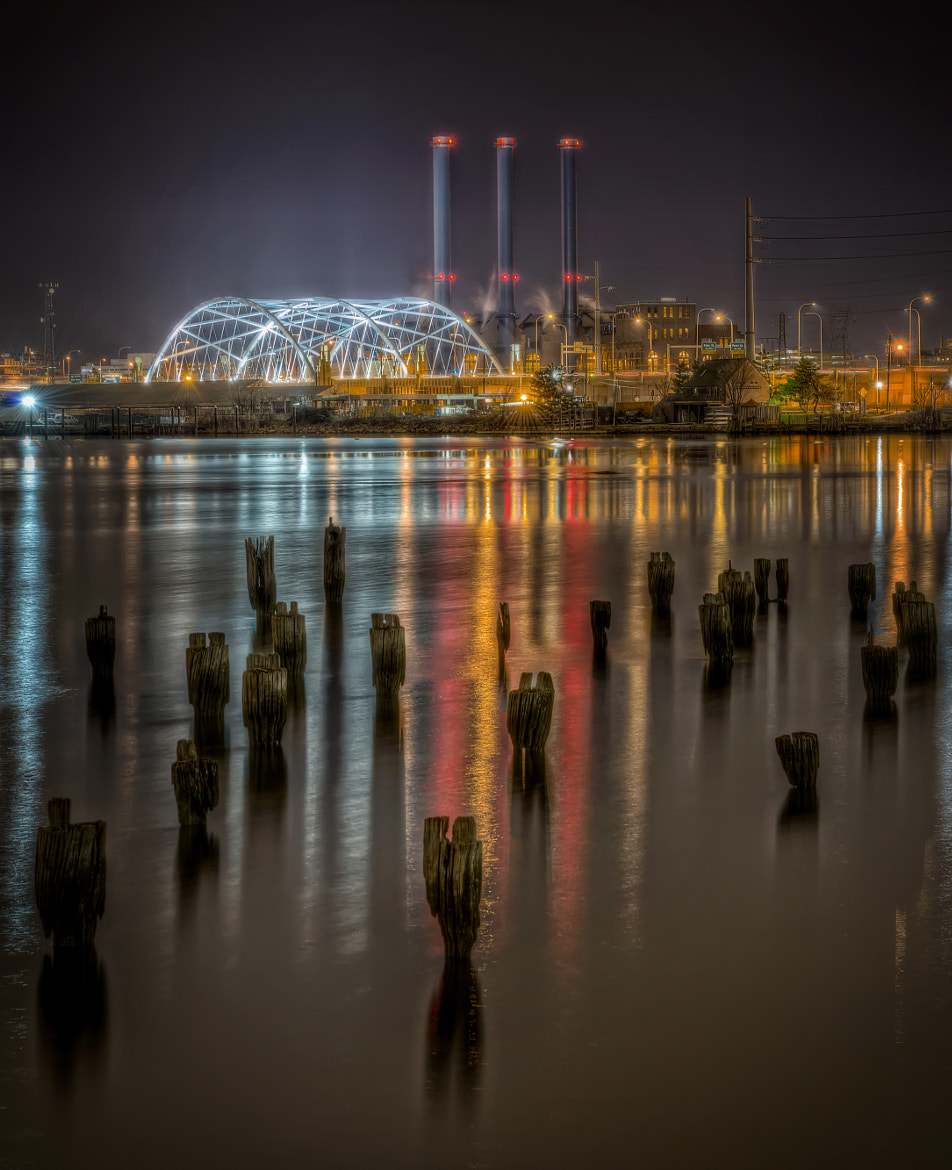 Photograph India Point Park at Night by Frank Grace on 500px