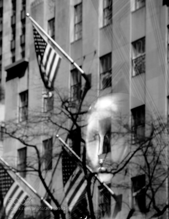 Photograph Ghost Revealed at Rockefeller Center by Mike Harris on 500px