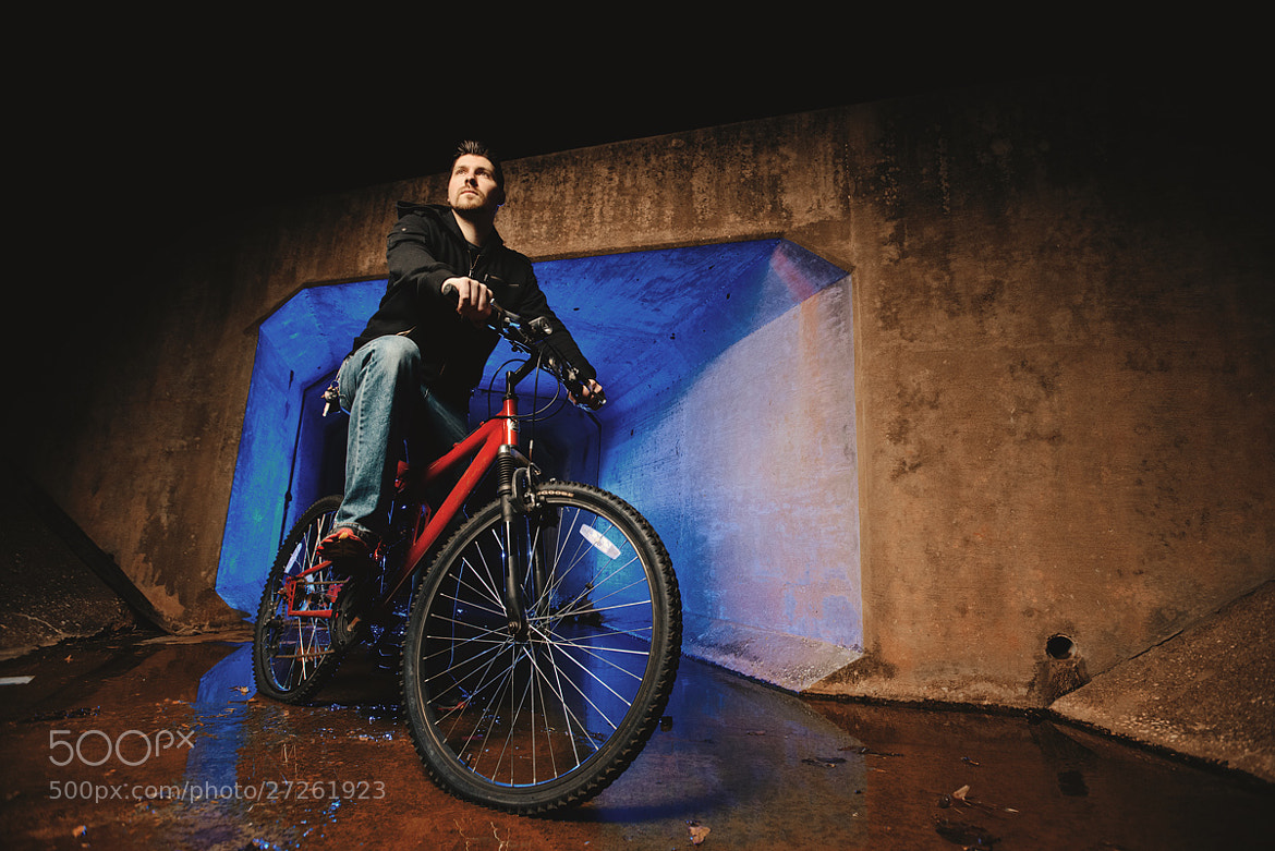 Photograph Chance and His Bike by Matthew Hogan on 500px