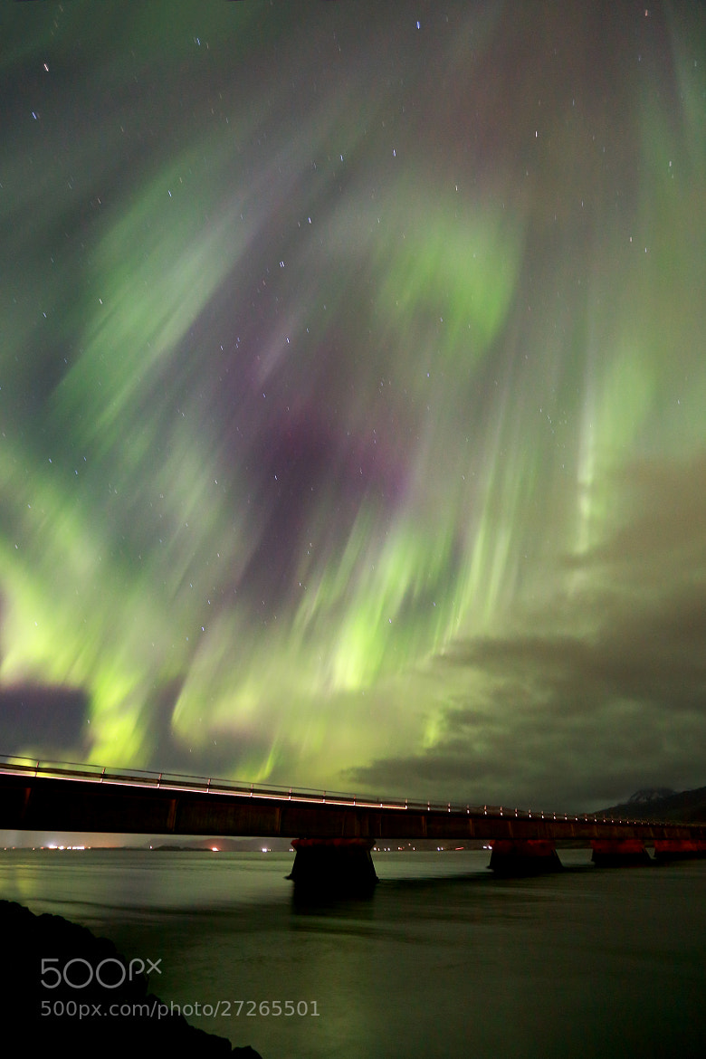 Photograph Aurora Borealis dance by Jon Hilmarsson on 500px