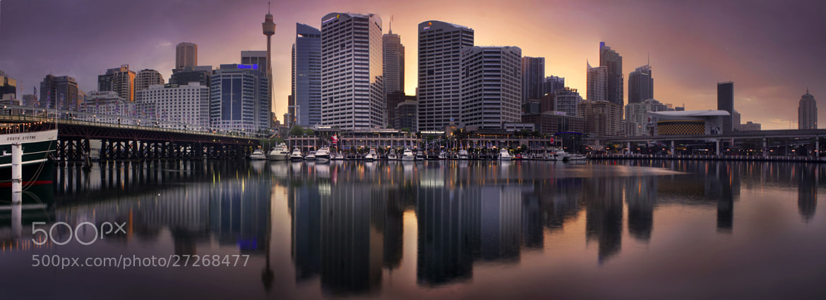 Photograph Cockle Bay And Sydney Skyline || SUNRISE || AUSTRALIA by Rhys Pope  on 500px