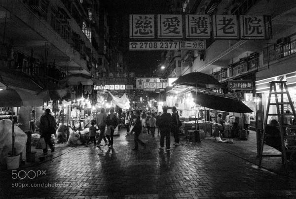 Photograph Night Market by Kenneth Chong on 500px