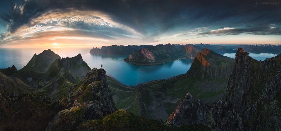 Humbled by the Mountains by Janne Kahila on 500px.com