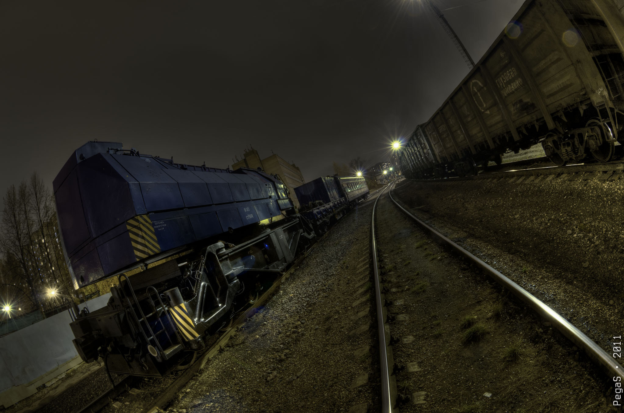 Photograph Sleeping Trains by Eugene Piven on 500px